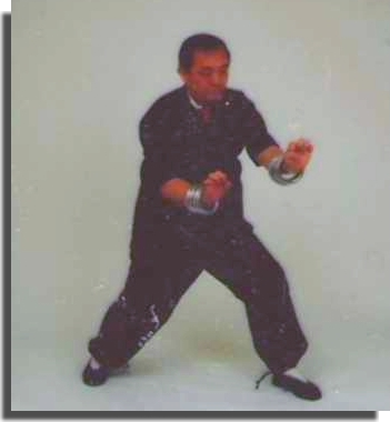 Late Sifu Gene Chen plays Iron Rings - Chu Gar