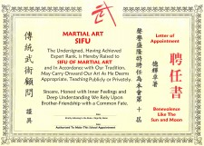 Martial Art Certificate Pack - Exclusive!